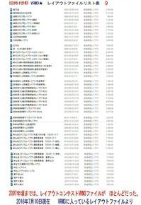 旧VRM3★レイアウトファイルリスト表9