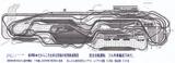完成Nゲージレイアウト見張線レイアウト図1