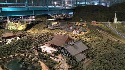 ジオラマ京都HOゲージ右側奥14天龍寺