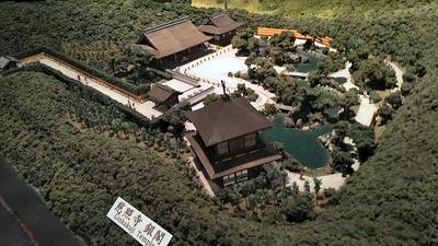 ジオラマ京都HOゲージ右側銀閣1