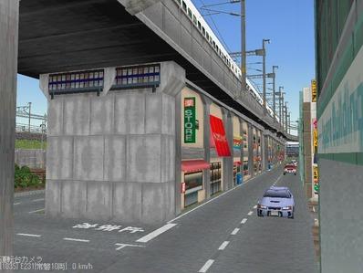 KATOユニトラックレイアウトプ6-9中央駅前周辺7