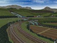 東北本線越河南トンネル大滝1
