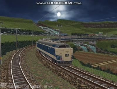 越河レイアウト夜汽車シリーズ3-583系はくつる4