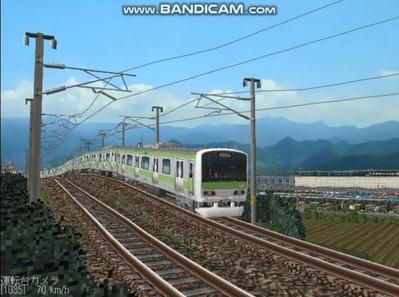 越河レイアウト電車シリーズ74-E231系山手線4