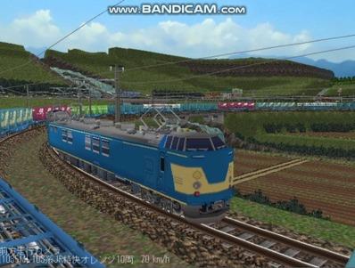 越河レイアウト電車シリーズ113-クモヤ192検測試験車5