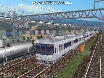 越河レイアウト電車シリーズ68-223系1000番台1