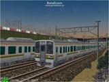 進撃の通勤電車34