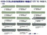 新幹線編成200系+400系-5