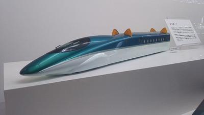鉄博31−東北新幹線試験車両ねこ耳1