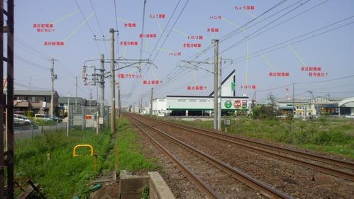 架線説明図から1
