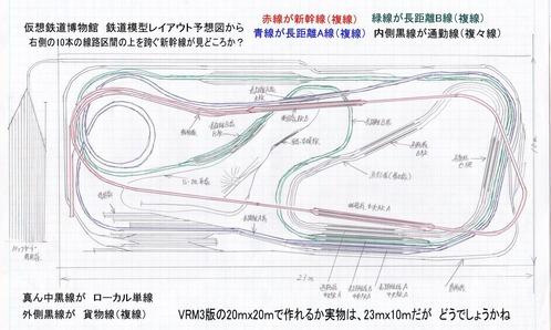 鉄道博物館ジオラマレイアウト図オリジナル2