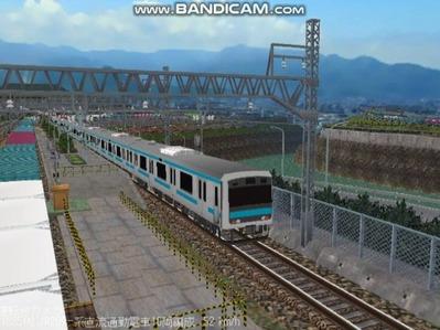 越河レイアウト電車シリーズ79-209系京浜東北線3
