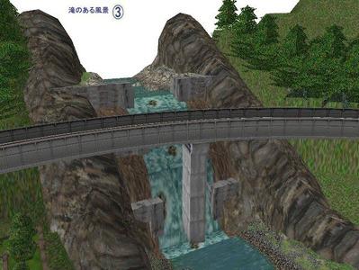 5編成並走スタジアム見張分線滝の配置3