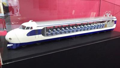 京都鉄道博物館84新幹線0系カットモデル1