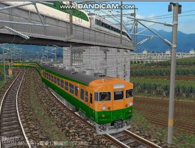 越河レイアウト特急シリーズ16-165系4