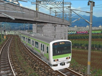 越河レイアウト電車シリーズ74-E231系山手線5
