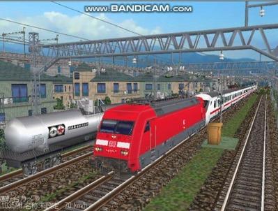 越河レイアウト特急シリーズ57-ドイツ国鉄IC-ECColor-1