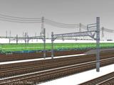 雪景色と貨物交換駅レイアウト44.jpg