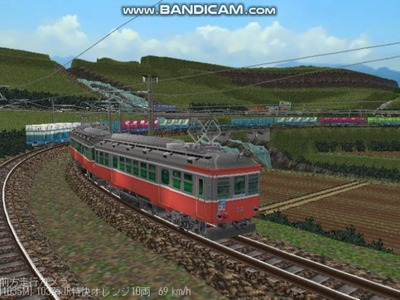 越河レイアウト103シリーズ112-箱根登山鉄道7