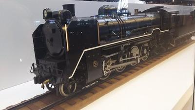鉄博60−D51蒸気機関車