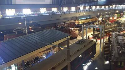 鉄道博物館1階車両コーナー1