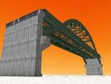 中路式アーチ橋11