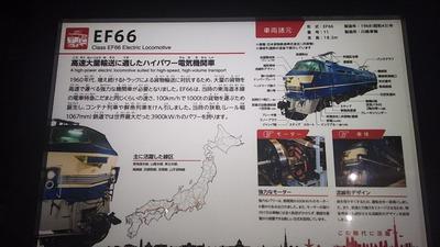 鉄博129−EF66機関車説明1