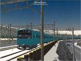 進撃の通勤電車8 201系4.