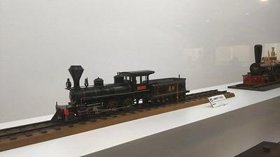 鉄博72−弁慶号蒸気機関車