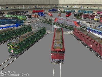VRM3版車両博物館機関車ターンテーブル8