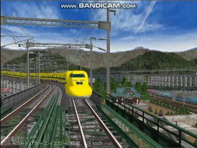 越河レイアウト東北新幹線923系ドクターイエロー6