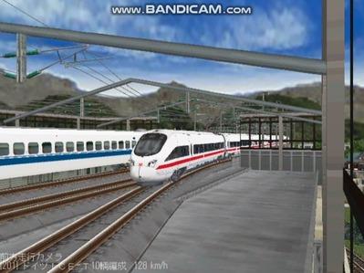 越河レイアウト東北新幹線ICI-T411-9