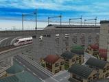 3欲張り新幹線レイアウト踏切道部分92