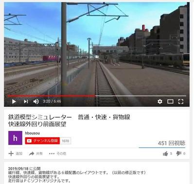 鉄道模型しみゅれーたー5-2