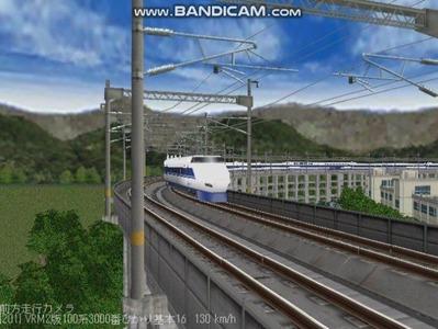 越河レイアウト東北新幹線100系VRM2版5