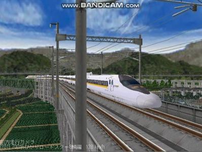 越河レイアウト東北新幹線700系レールスター7