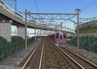 KATOレイアウトプラン6-9-阪急8000形5