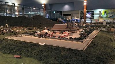 ジオラマ京都HOゲージ右側奥12京都御所1