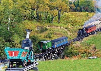 ワシントン山コグ鉄道3