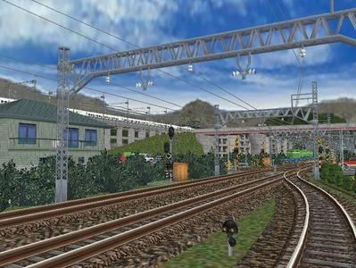 白石駅構内上り出発信号機4