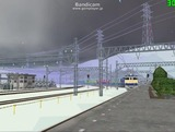 北の貨物駅通過中Ef65重連3