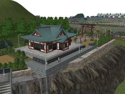 5編成並走見張線海岸神社8