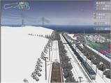 雪景色完成その26見張線14