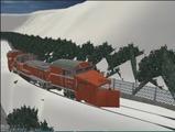 待避線レイアウト追加ローカル線DE15ラッセル-5