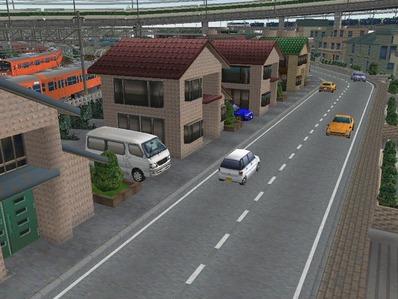 KATOユニトラックレイアウトプラン右側住宅3