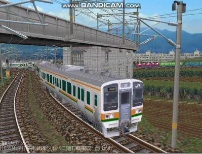 越河レイアウト電車シリーズ76-211系二階建て5