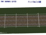 TOMIX 3線架線柱近代型 100�真上6