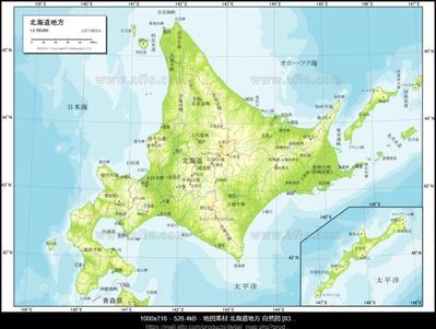 JR北海道の路線図4