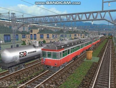越河レイアウト103シリーズ112-箱根登山鉄道2