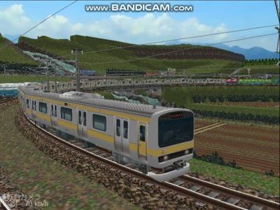 越河レイアウト電車シリーズ73-E231系総武線6